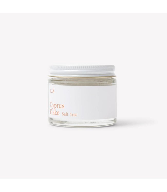 ILĀ   :   CYPRUS FLAKE SALT 1 oz