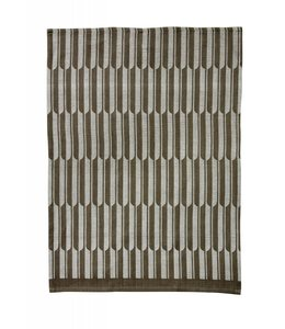 ARCH TEA TOWEL   :   BROWN