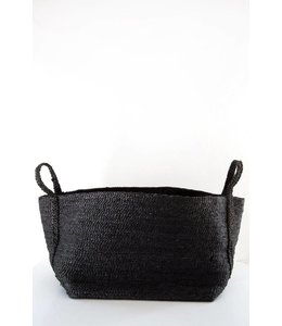 SMALL JUTE CHARCOAL BASKET