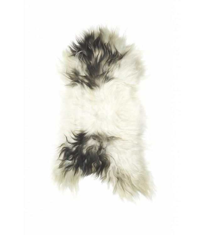 NATURAL ICELANDIC SHEEPSKIN   :   SPOTTED