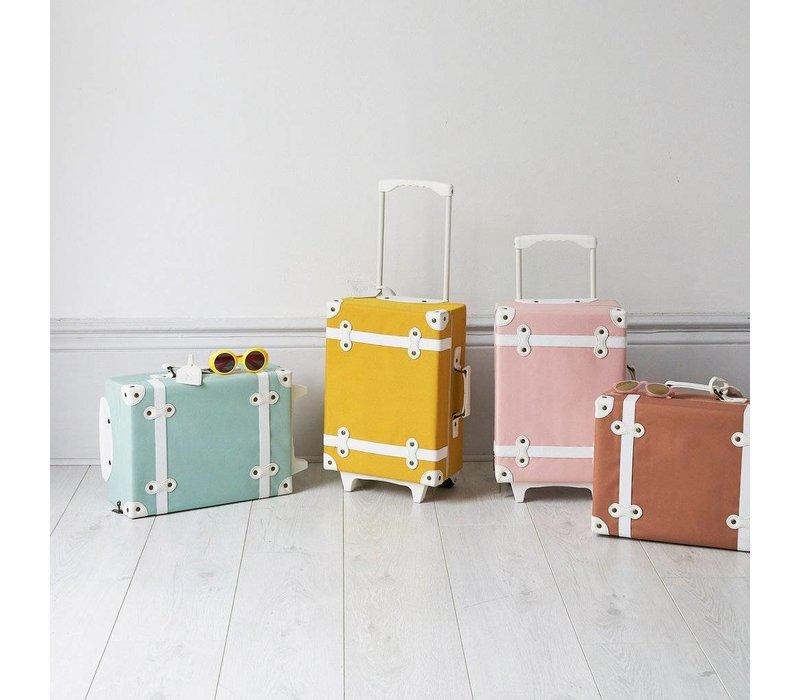 See-Ya suitcase - Mustard