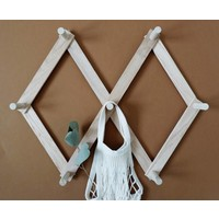 Wooden peg rack - Small