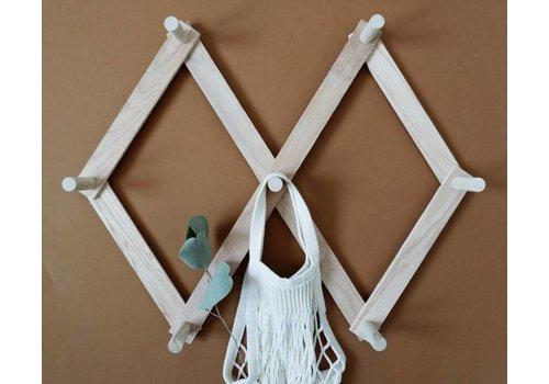 MINIKA Wooden peg rack - Small