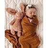 SNUGGLE HUNNY KIDS Organic muslin blanket - Bronze