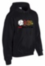 Ball & Flame HOODIE Volleyball