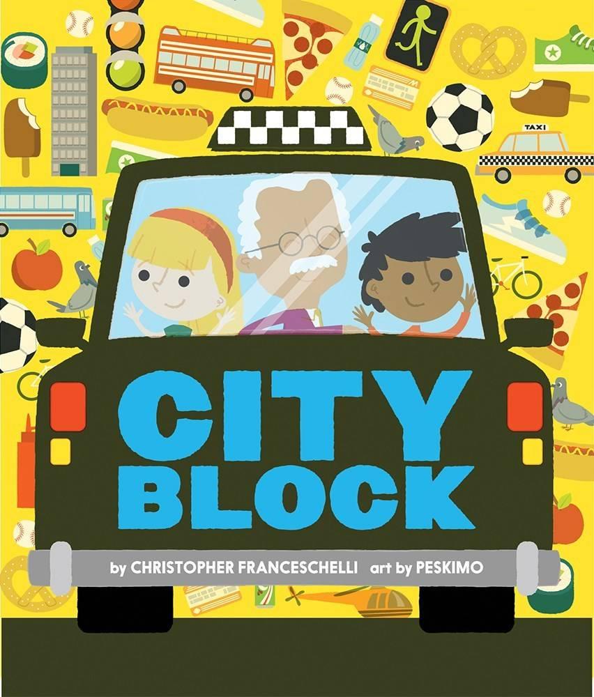 Abrams Appleseed Alphablock: Cityblock