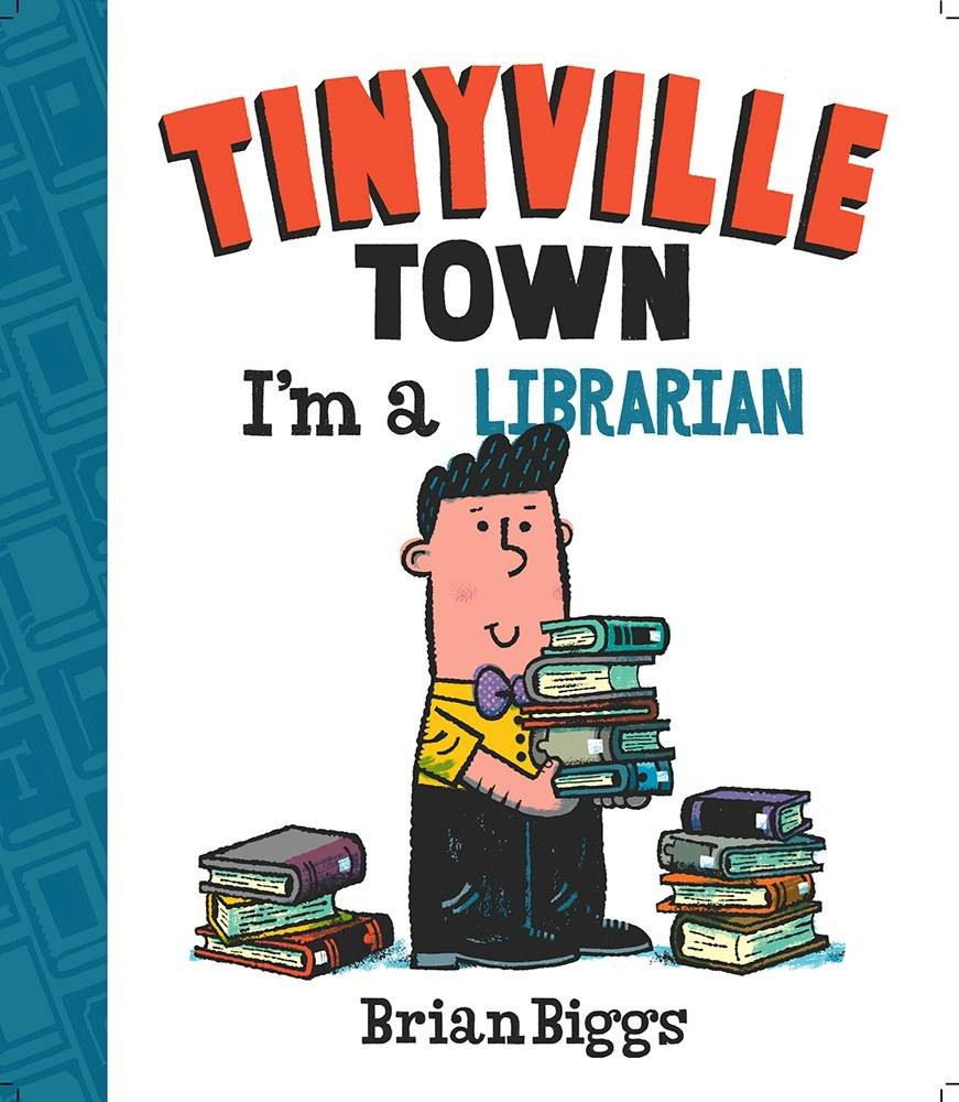 Abrams Appleseed Tinyville Town: I'm a Librarian