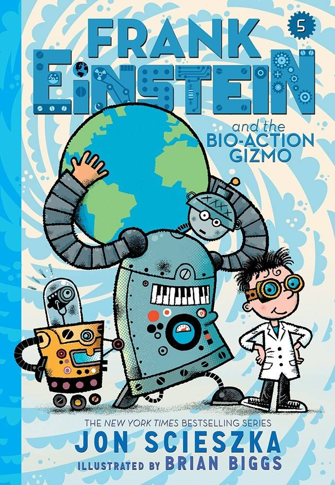 Amulet Books Frank Einstein 05 The Bio-Action Gizmo