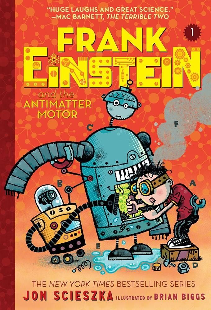 Amulet Paperbacks Frank Einstein 01 The Antimatter Motor