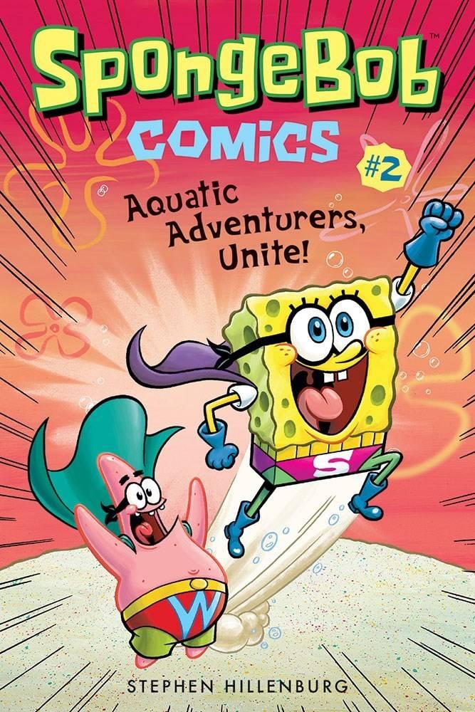 Amulet Paperbacks SpongeBob Comics 02 Aquatic Adventurers, Unite!