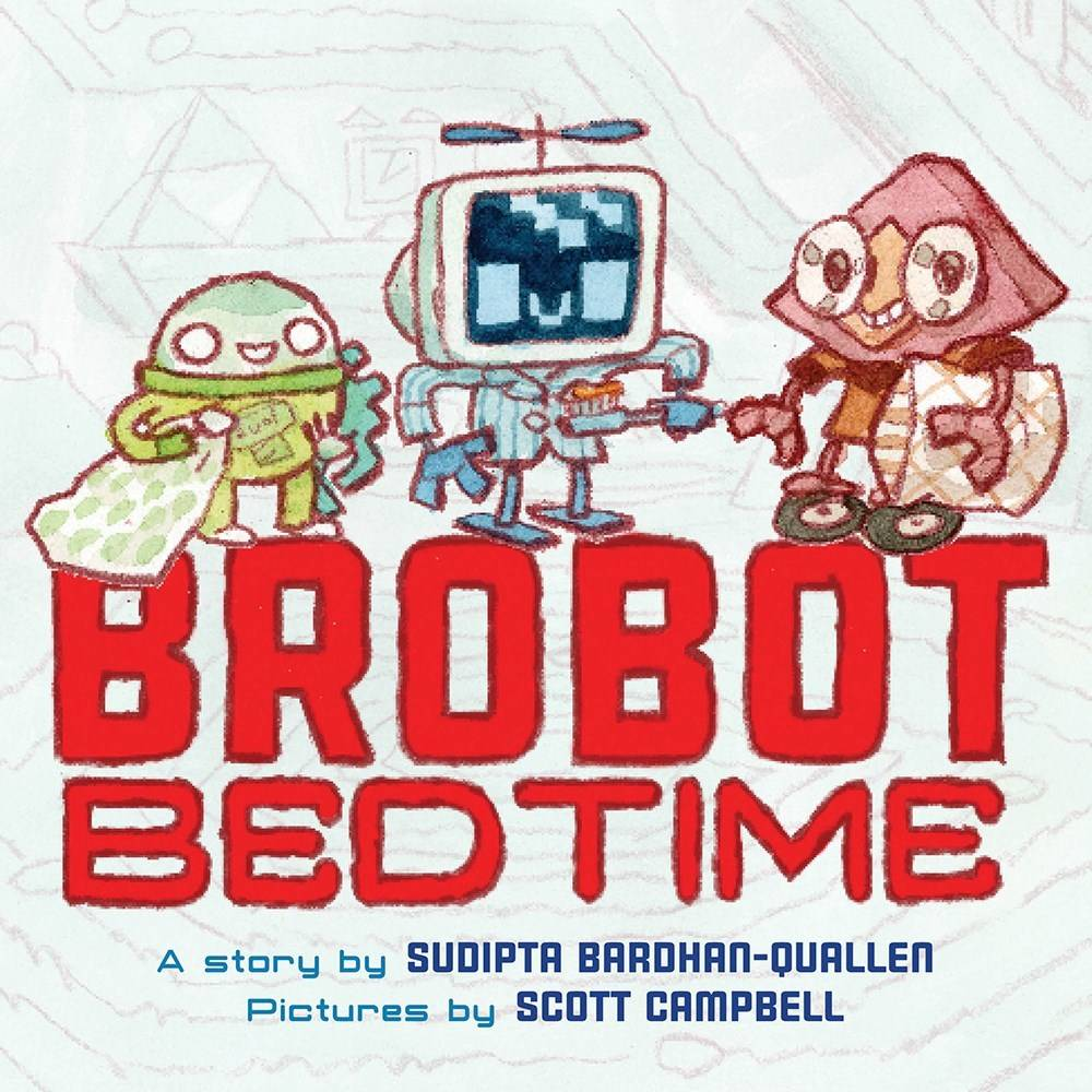 Abrams Books for Young Readers Brobot Bedtime