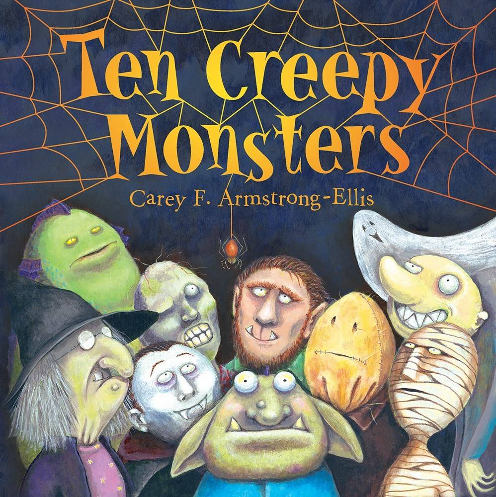 Abrams Books for Young Readers Ten Creepy Monsters