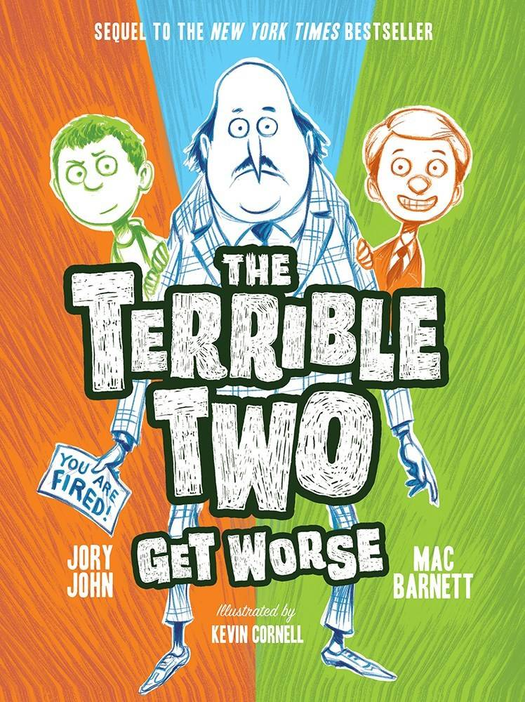 Amulet Paperbacks The Terrible Two 02 Get Worse