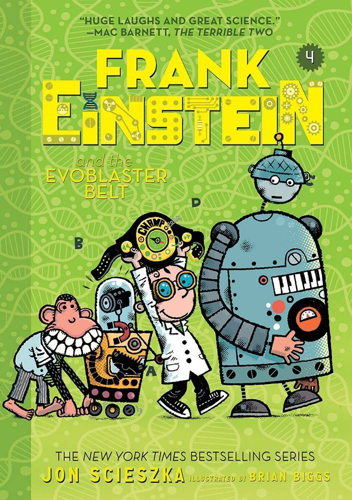 Amulet Paperbacks Frank Einstein 04 The EvoBlaster Belt