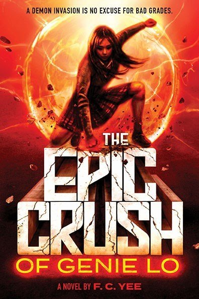 Amulet Books The Epic Crush of Genie Lo