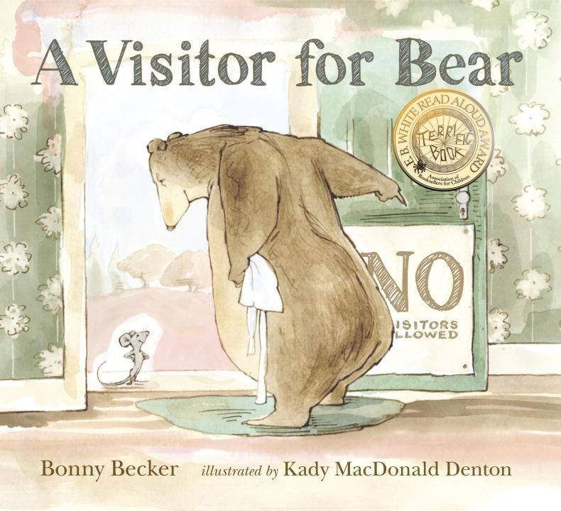 Candlewick Bear and Mouse: A Visitor for Bear