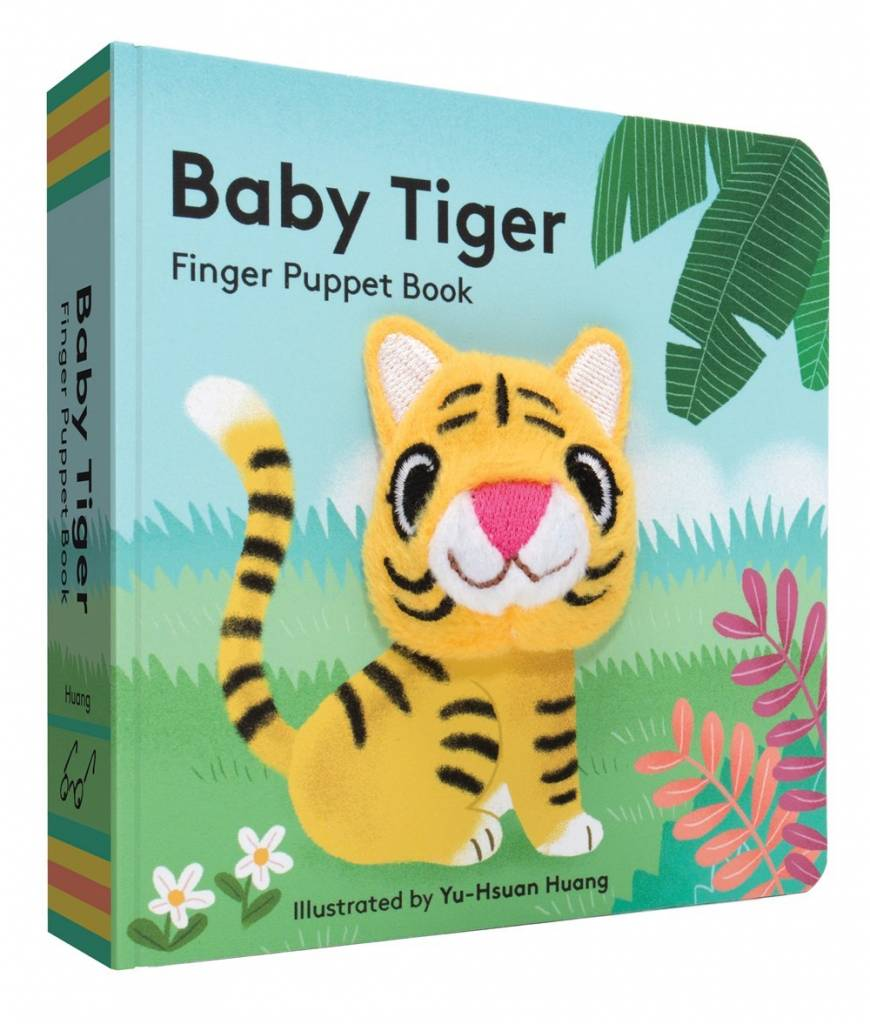Baby Tiger (Finger Puppet Board Book)