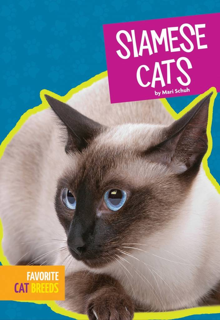 Amicus Ink Favorite Cat Breeds: Siamese Cats [Domestic, Mammals]