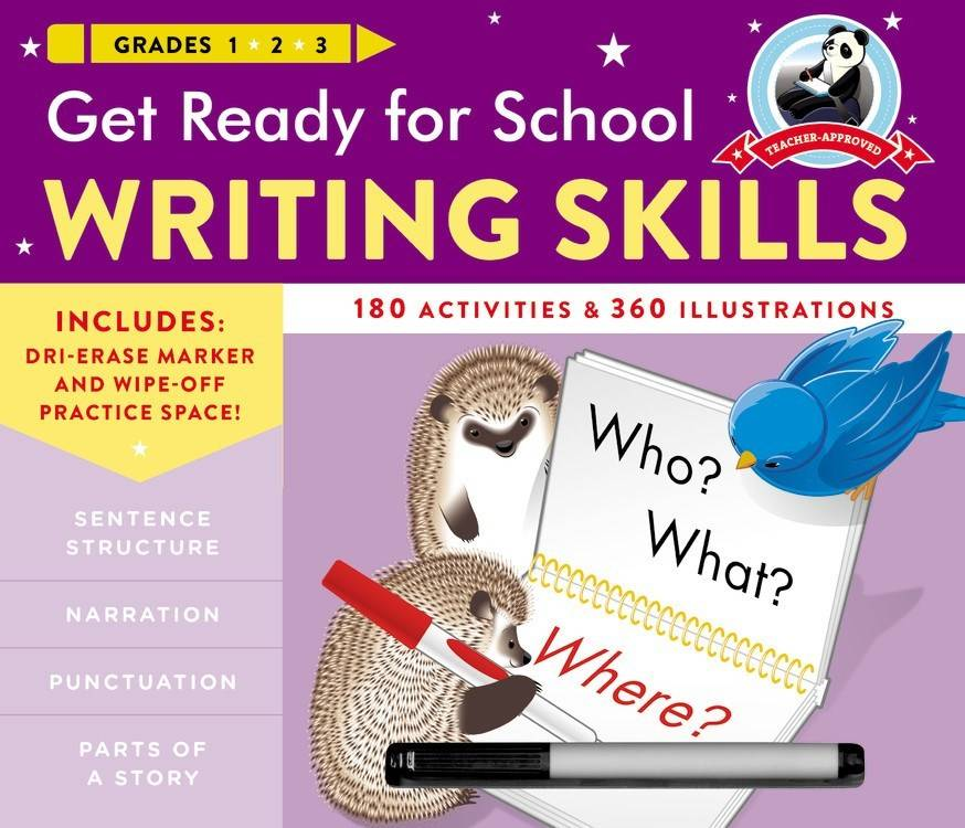 Black Dog & Leventhal Get Ready for School: Grades 1, 2, and 3: Writing Skills