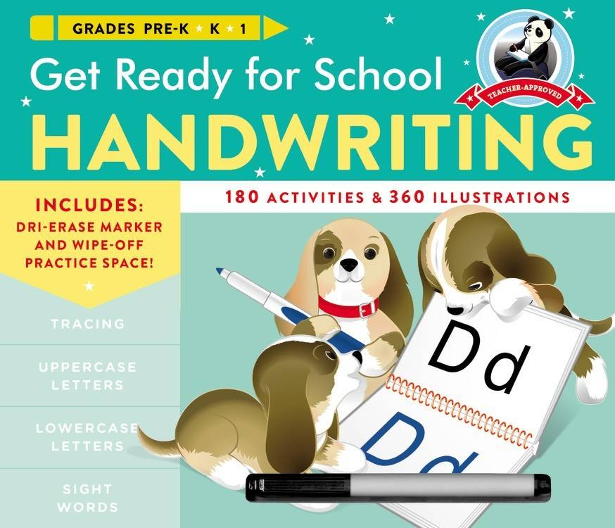 Black Dog & Leventhal Get Ready for School: Pre-K, Kindergarten: Handwriting