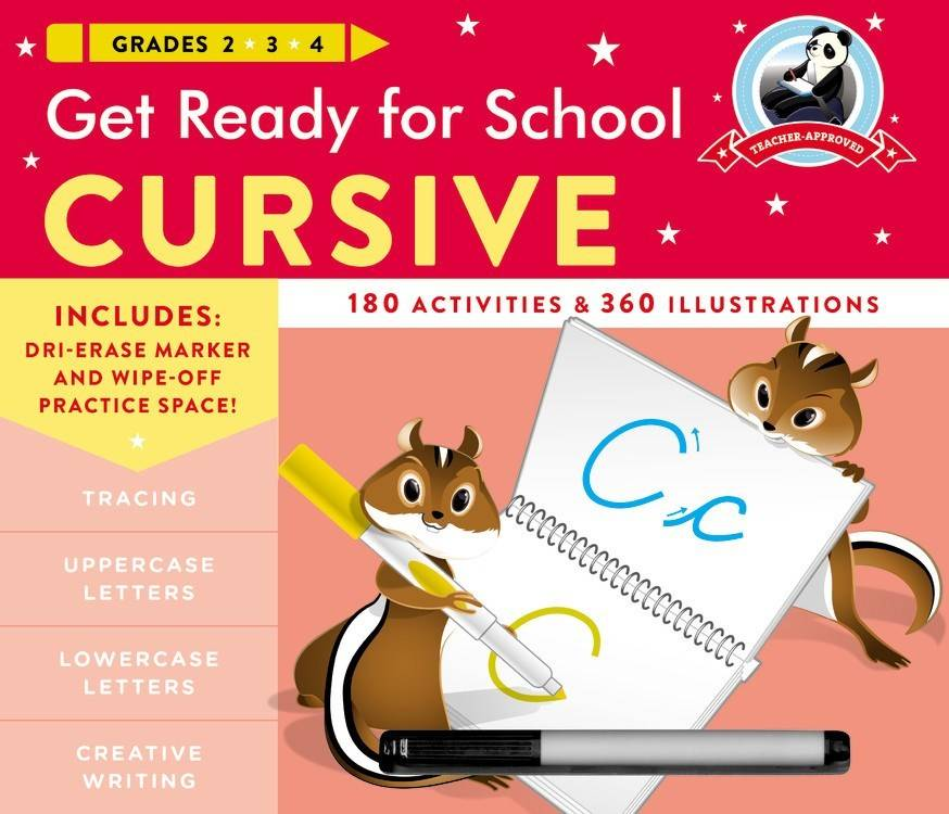 Black Dog & Leventhal Get Ready for School: Grades 2, 3, and 4: Cursive