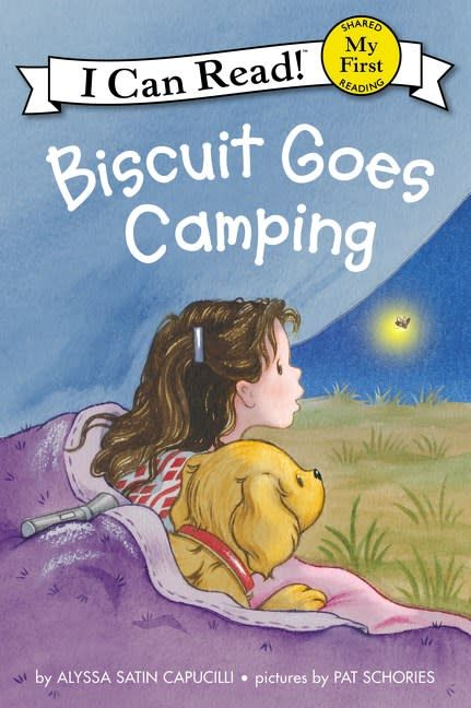 Biscuit: Goes Camping (I Can Read!, Lvl Pre-1)
