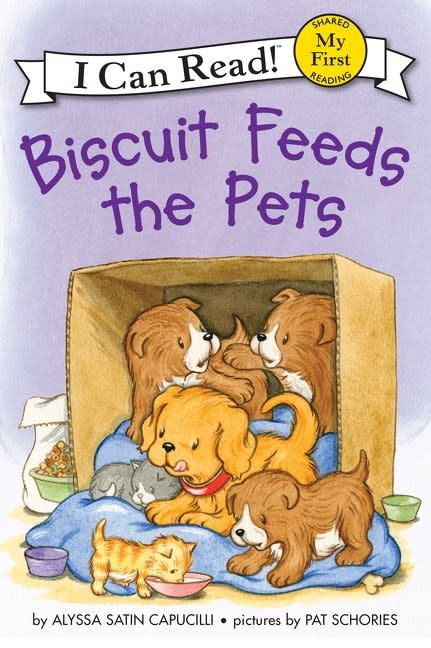 Biscuit: Feeds the Pets (I Can Read!, Lvl Pre-1)