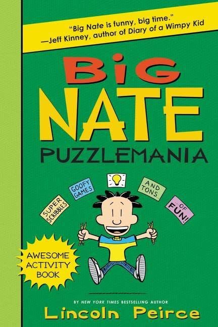 Big Nate: Puzzlemania (Activity Book)