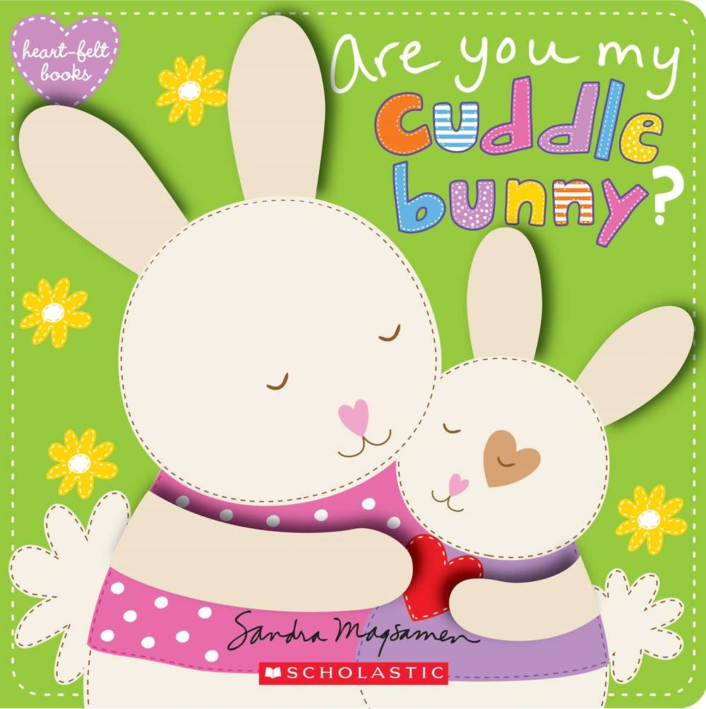 Heart Felt Books Are You My Cuddle Bunny Linden Tree Books