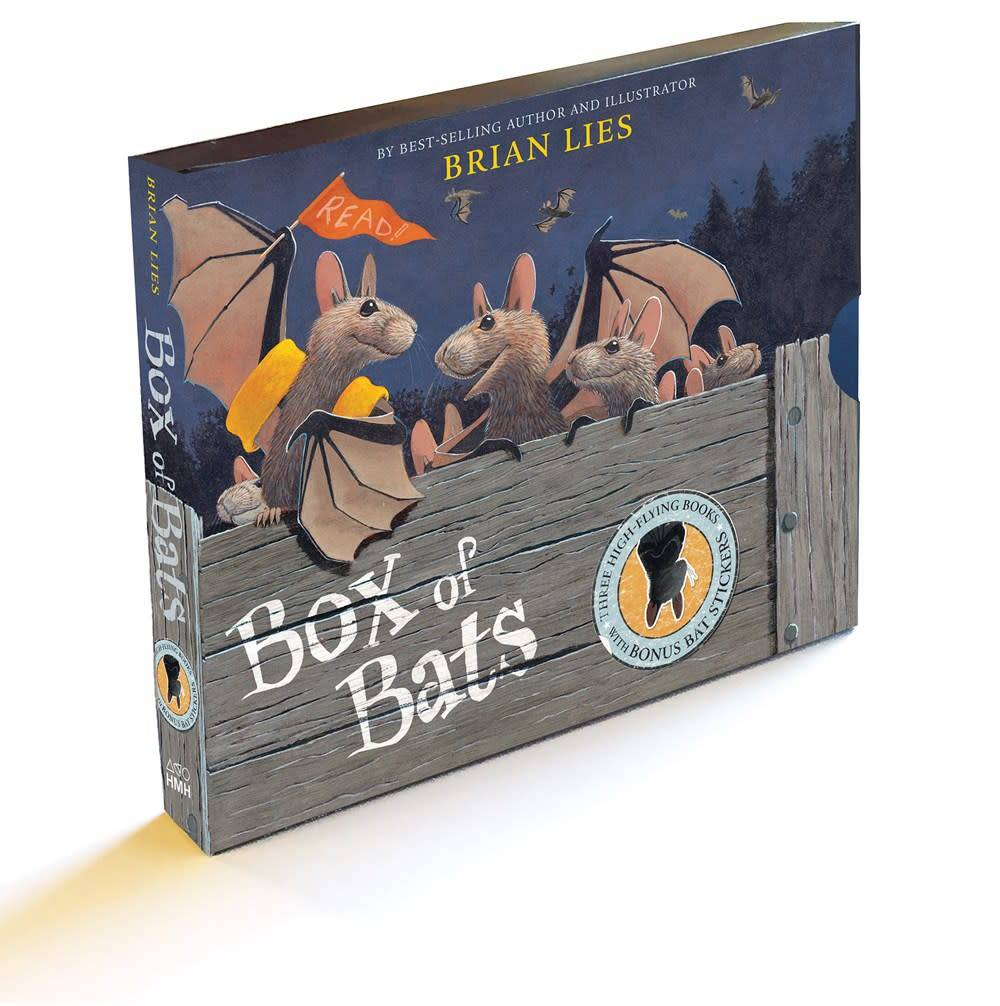 Bats Boxed Set (3 Books: Beach, Ballpark, Library)