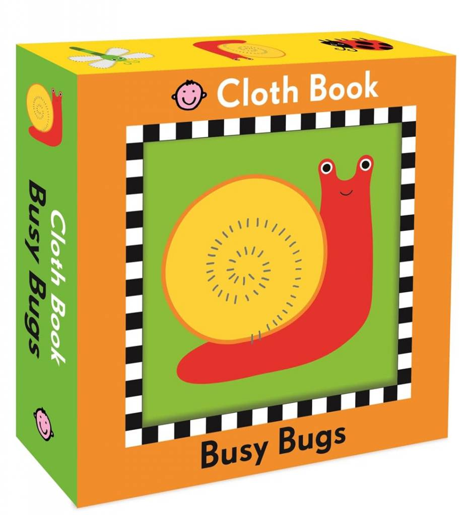Busy Bugs (Cloth Book)