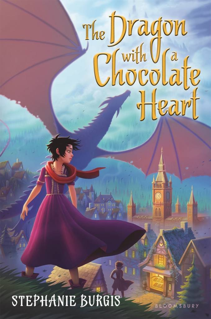 Bloomsbury USA Childrens The Dragon with a Chocolate Heart