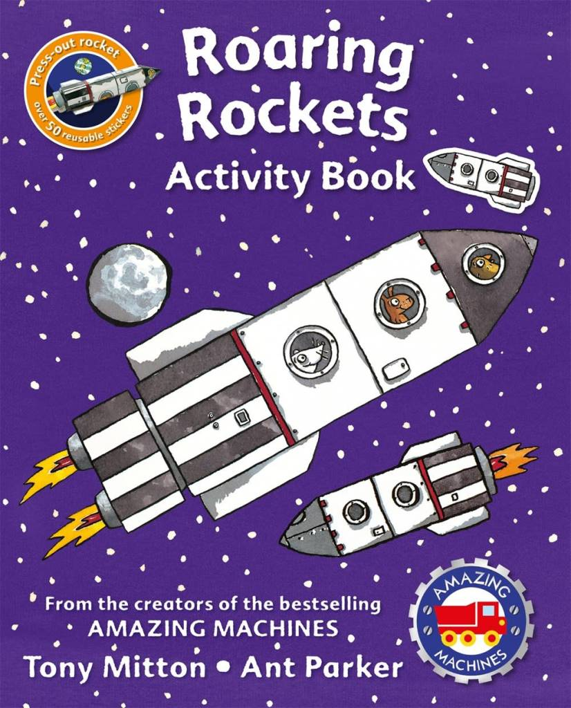 Amazing Machines: Roaring Rockets (Activity Book)
