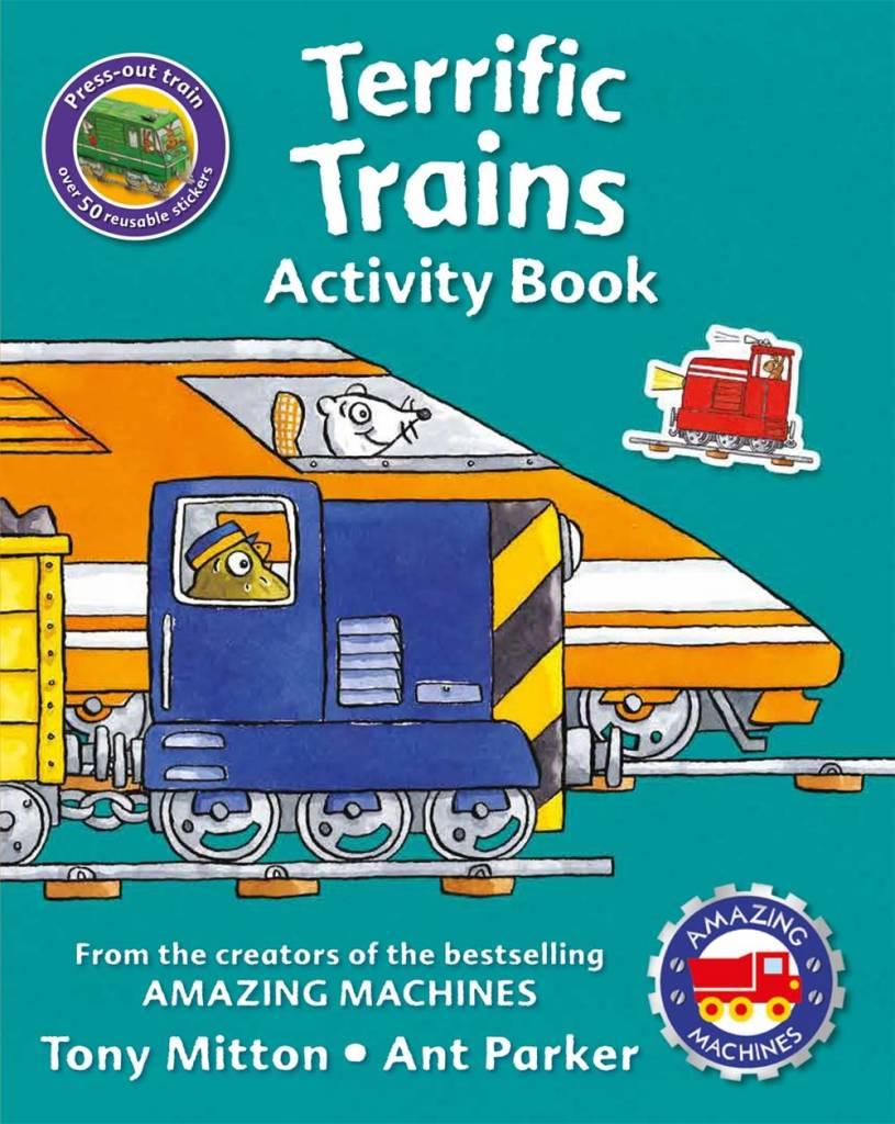 Amazing Machines: Terrific Trains (Activity Book)