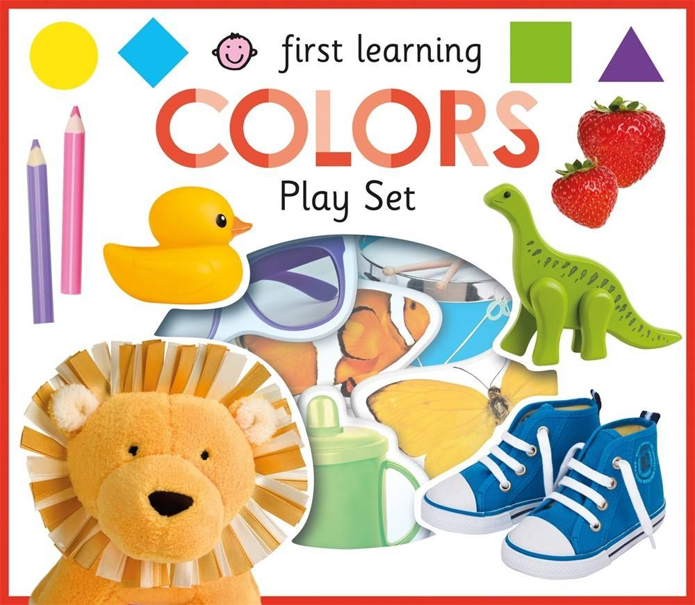 Priddy Books First Learning COLORS Play Set - Linden Tree Books