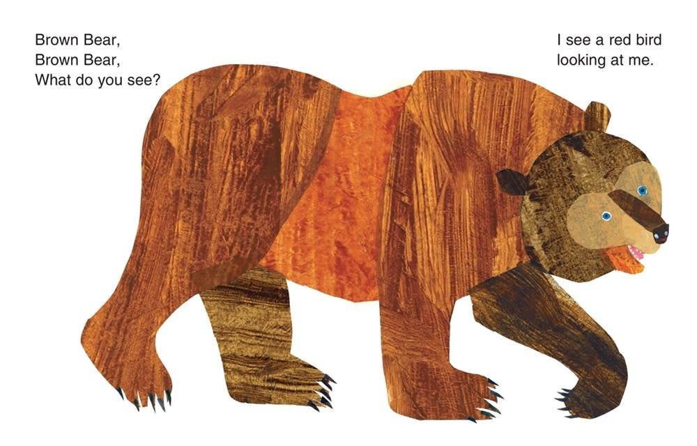 Bears 01 ...Brown Bear, What Do You See (50th with CD)