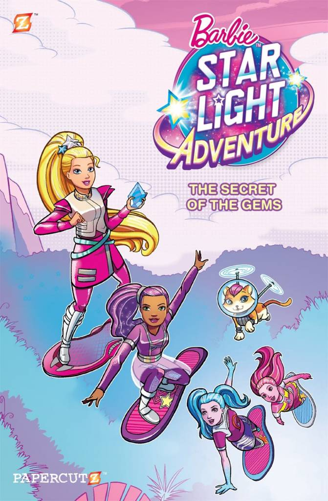 Barbie Starlight Graphix 01 The Secret of The Gems