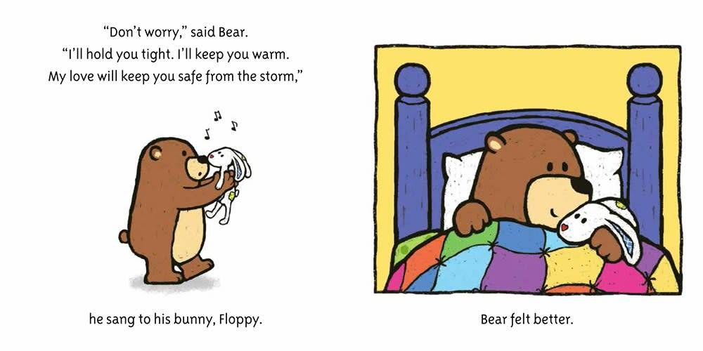 Bear and Bunny: Stormy Night