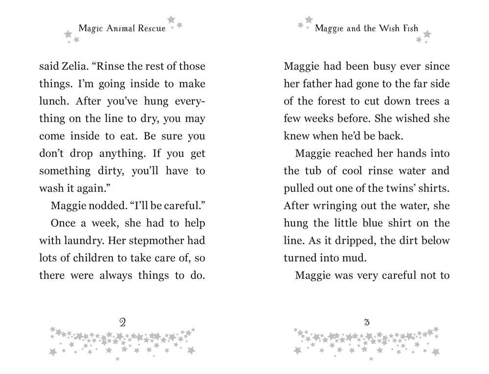 Bloomsbury USA Childrens Magic Animal Rescue 02 Maggie and the Wish Fish