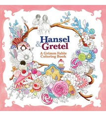 Hansel Gretel A Grimm Fable Coloring Book 1395 Creations Enchanted Oceans