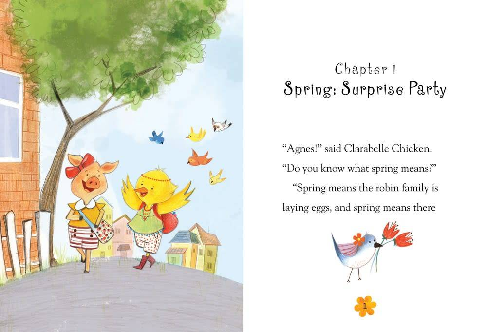 Bloomsbury USA Childrens Agnes and Clarabelle