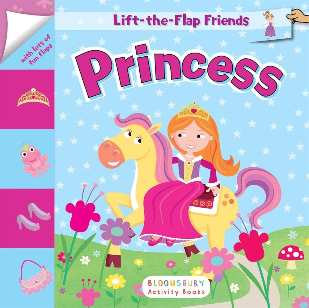 Bloomsbury Activity Books Lift-the-Flap Friends: Princess