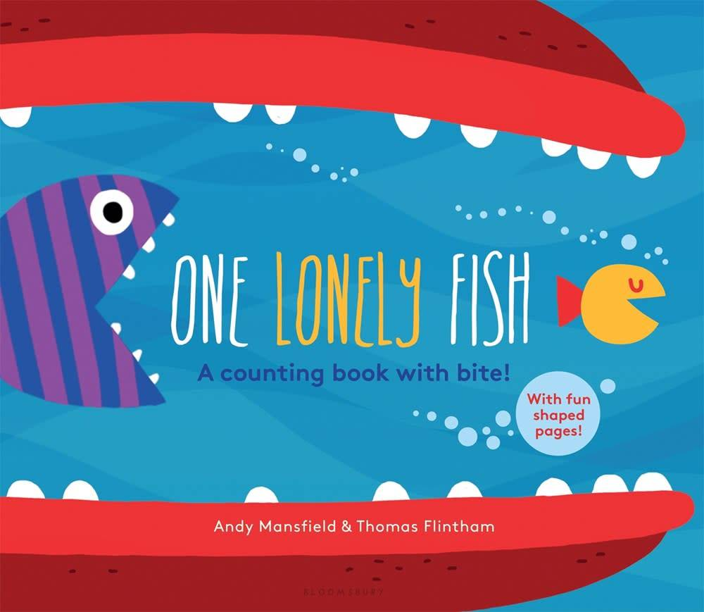 Bloomsbury USA Childrens One Lonely Fish: A Counting Book with Bite!