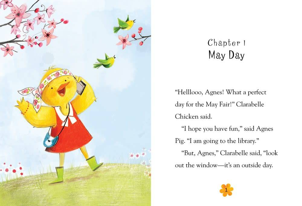 Bloomsbury USA Childrens Agnes and Clarabelle Celebrate!