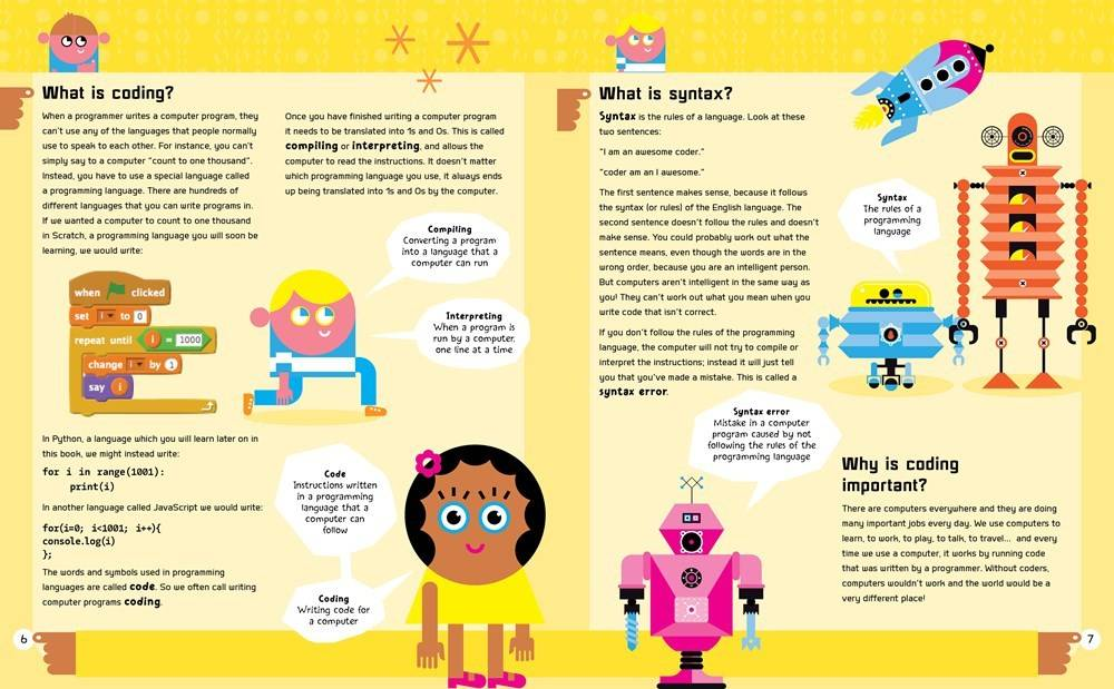Bloomsbury USA Childrens A Beginner's Guide to Coding: ...Scratch and Python