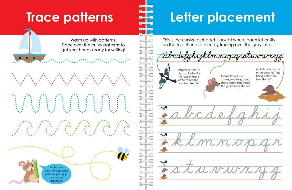 cursive writing workbooks