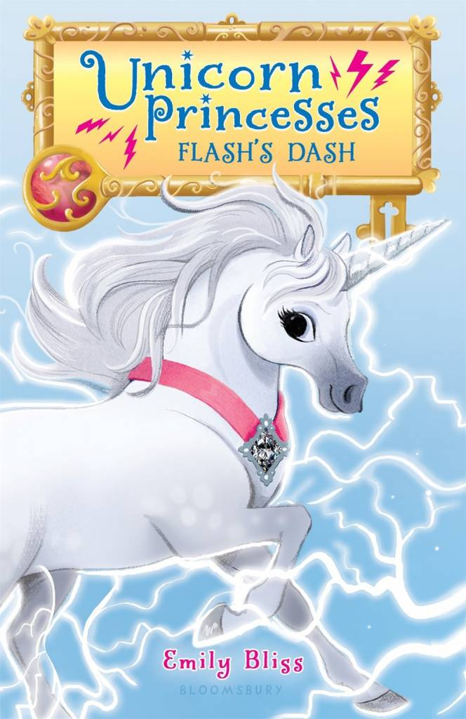 Bloomsbury USA Childrens Unicorn Princesses 02 Flash's Dash