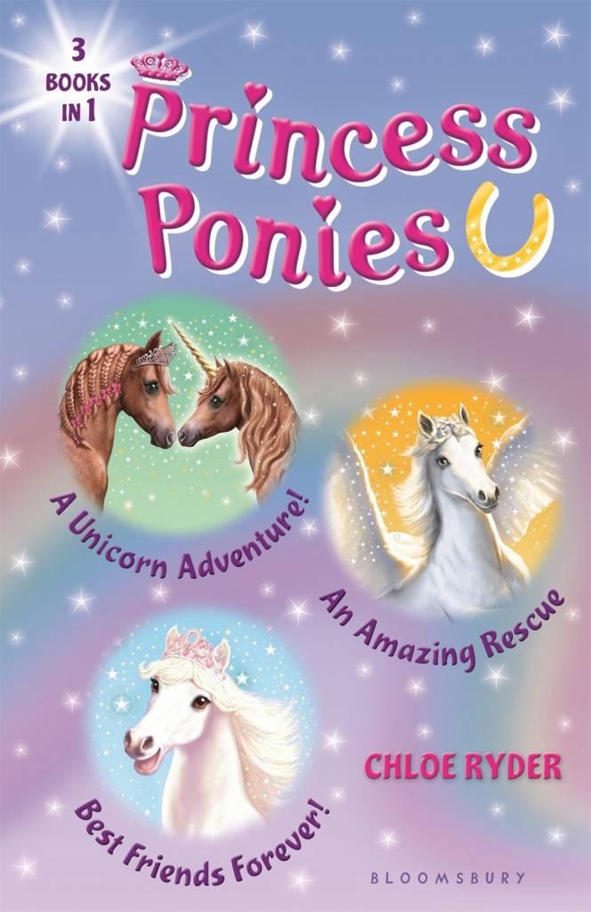 Bloomsbury USA Childrens Princess Ponies Omnibus (#4-6)