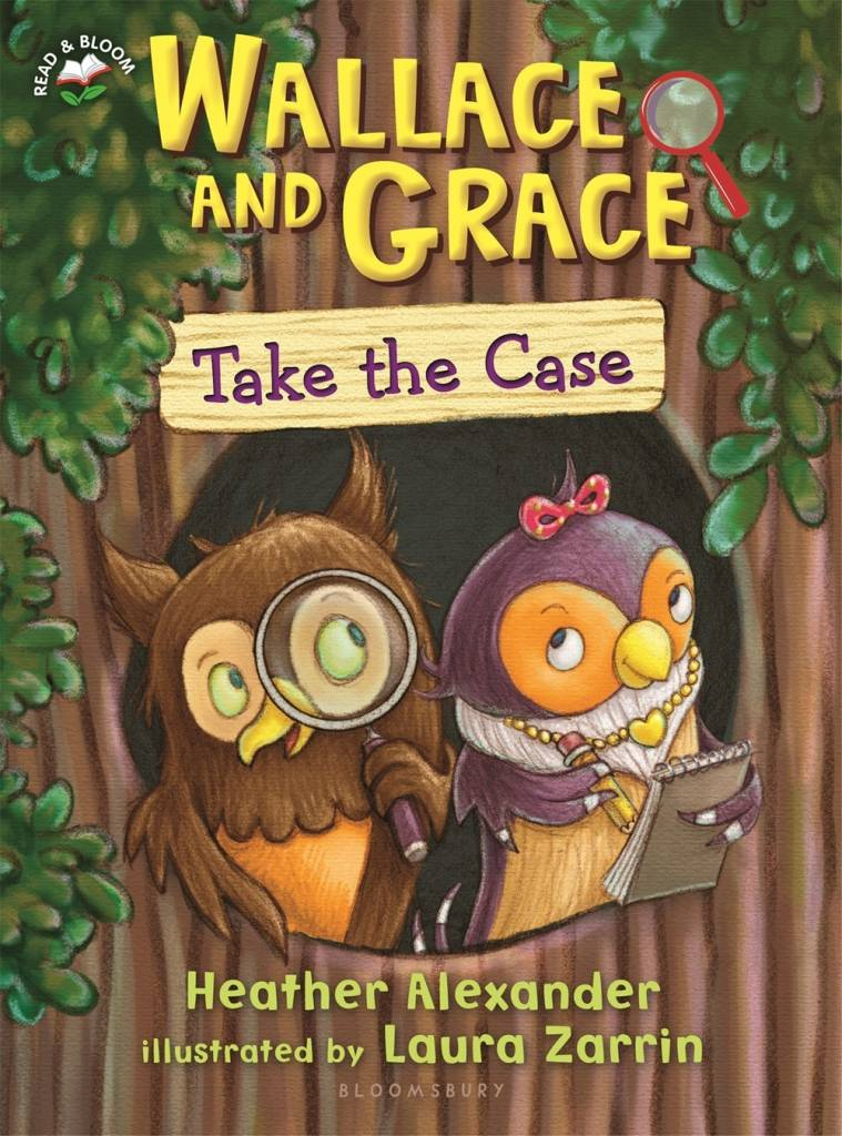 Bloomsbury USA Childrens Wallace and Grace: Take the Case