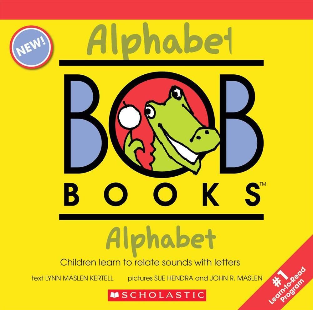 BOB Books: Alphabet Boxed Set (12 Books)
